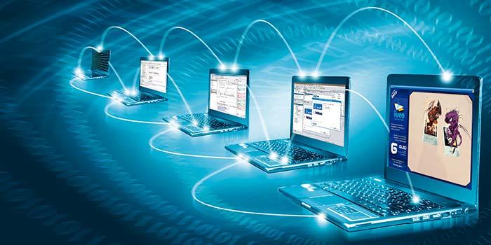 Computadoras con conexiones virtuales